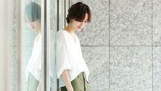 どんな格好したらいいの?[40代ファッション]定番アイテムと着こなし術をご紹介♪ | キナリノ
