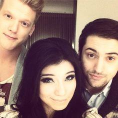 Scott, Kirstie, and Mitch