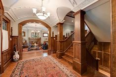 105-Year Old Shaughnessy Mansion Seeks LOVE CRAFTSMAN STYLE MUCH WARMER  WOULD DEF. CHANGE DECOR THOUGH.