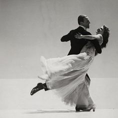 Fred Astaire. Rita Hayworth.