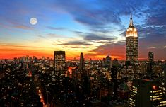 Photographing Cityscapes - Night Photography Tips
