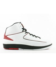 d85ceb8b1d04 Air Jordan 2 Retro White Varsity Red Black 308308 161