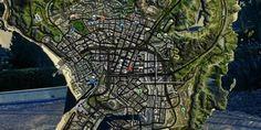 4K Satellite View Map-Wie bei Google Maps wirkt diese Karten-Mod deutlich ansprechender als die Standard-Map aus dem Spiel. Sie ist zoombar und trotz der Detail-Fülle übersichtlich.