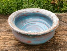 Hand Thrown Ceramic Bowl Medium Size by TheFathersMarket on Etsy, $19.99