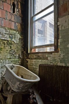 Immigration: Abandoned buildings. #EllisIsland #history