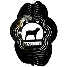 "12"" Mastiff - Black Starlight Wind Spinner. #Mastiff"