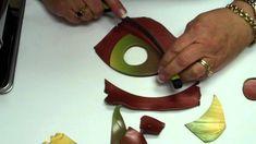 polymer clay fimo shawl pin tutorial