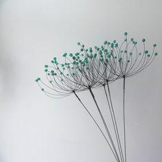 Wire Art Sculpture, Tree Sculpture, Wire Sculptures, Sculpture Garden, Abstract Sculpture, Bronze Sculpture, Wire Crafts, Metal Crafts, Sculptures Sur Fil