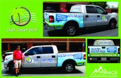 Partial Truck Wrap for Gulf Coast Grill, Suwanee