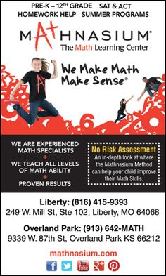 Summer classes available to help kids improve math scores.  Ages PreK-12th grade. www.ifamilkc.com