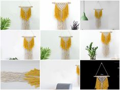 We will show you how to knit these products, and hope you can pay attention to us! We will keep an update every day to teach you knitting! Thanks again! Bohemian Tapestry, Pay Attention, Hand Knitting, Tassel Necklace, Hand Weaving, Wall Decor, Pendant, Diy, Home Decor