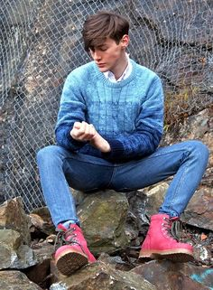 SOME ROCKS AND MY NEW SHOES (by Tobias Sikström) http://lookbook.nu/look/3454911-SOME-ROCKS-AND-MY-NEW-SHOES