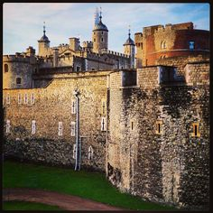 Tower of London…I've been here a few times and always love it…The crown jewels are here, which is fun to see…and the history is so interesting.