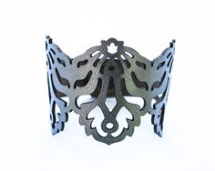 Laser Cut Leather Bracelet - Falling Leaves design £20.00 Available on our late night fridays by Lydia