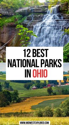 12 Best National Parks in Ohio | ohio national parks | waterfalls in ohio national parks | ohio waterfalls national parks | ohio travel | national parks usa | best national parks in the midwest | midwest national parks | #ohio #nationalparks #midwest