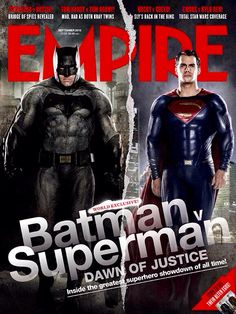 The Man of Steel and the Dark Knight :)