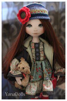 Muñecas de colección hechos a mano.  Masters - Feria artesanal Yanochka.  Hecho a mano.