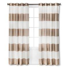Threshold™ Bold Stripe Curtain Panel