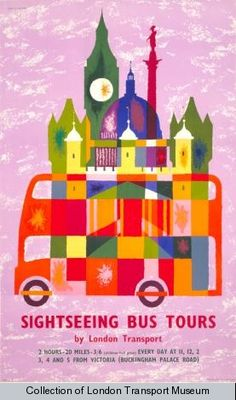 The Passion of Former Days: London Transport Posters of the 1960s