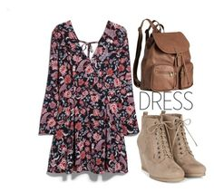 """""""Fall Trend:Longsleeve Dress"""" by mycherryblossom ❤ liked on Polyvore featuring MANGO, H&M, polyvorestyle, polyvorecontest and longsleevedress"""