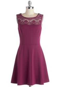 Conifer What It's Worth Dress in Fuchsia. Were sure you already know how lovely you look in the fuchsia color of this cocktail dress, but dont mind if we compliment you further!