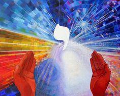 Youd, La main, création de l'univers, spiritualité, monde futur; l'appartenance. Petit ,dense, puissance concentrée