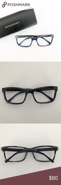 6f5f2c3983797 BURBERRY Glasses frames and case Used as sunglasses with prescription lenses.  Lenses have been professionally