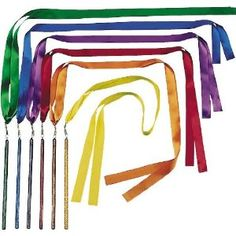 $20 for 6 US Games Color My Class Ribbon Wand Set