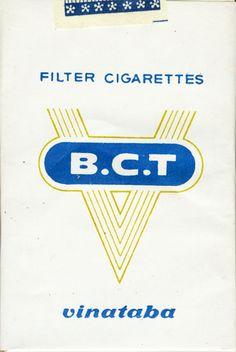 <b>В.С.Т. Filter Cigarettes Vinataba</b><br><br><i>Sold in</i> USSR <br><i>Made in</i> Vietnam in 80th year <br><i>Producer</i>: Vietnam National Tobacco Corporation<br><i>Trade Mark Owner</i>: Vietnam National Tobacco Corporation<br><i>Size height/width/depth (mm)</i>: 82/54/21<br><i>Open type</i>: v<br><i>Condition</i>: 3D-form<br><b>DOUBLES AVALIABLE</b>: NO