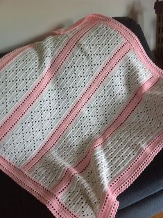 Ravelry: Lazy Daisy Blanket pattern by Mary Jane Protus