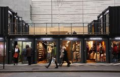 15. Boxpark Shoreditch - The 25 Coolest Structures Made From Shipping Containers   Complex
