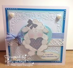Kelly's Cards: I love ewe !