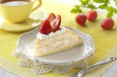 1、2、3…全部で10層!ウチカフェの春コレシリーズ♪新発売の「苺のミルクレープ(とちおとめ苺トッピング)」は、口どけの良いクリームと甘いとちおとめ苺がぴったりですね(^^)  http://lawson.eng.mg/c483a