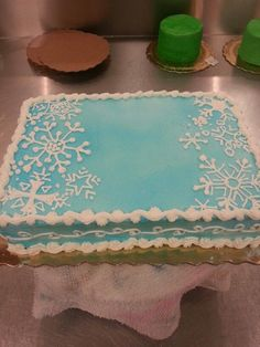 Image result for winter onederland sheet cake