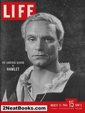 Laurence Olivier  life magazine cover: 15 Mar 1948