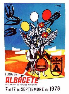Cartel Feria Albacete 1976