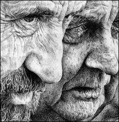 Heikki Leis-- pen and pencil