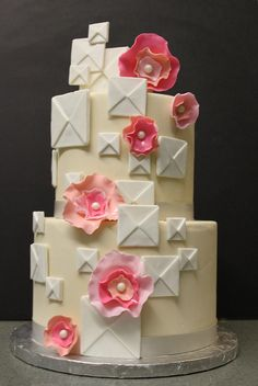 Flowers and Squares by Alliance Bakery, via Flickr