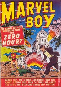 MARVEL BOY 2, GOLDEN AGE ATLAS MARVEL COMICS