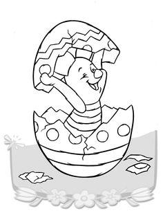 Peter Plys Tegninger til Farvelægning. Printbare Farvelægning for børn. Tegninger til udskriv og farve nº 21