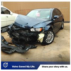 "From John B: ""Thank you for saving my life. I was in a head-on accident with an SUV in my 2011 S40 and walked away from the accident. My car, not so lucky. I have been a Volvo owner since 2004 when I got my first S40, my second S40 in 2007 and a special order S40 in 2010. I have loved this car and have always felt safe in it. I never thought I would ever test just how safe they are."""