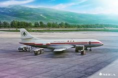 MEA Caravelle 1960s Sud Aviation, Civil Aviation, Middle East Airlines, National Airlines, Aircraft Design, Airports, Beirut, Classic, Pictures