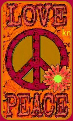 With more love we can have more peace! Hippie Peace, Happy Hippie, Hippie Love, Hippie Chick, Hippie Art, Hippie Style, Peace Love Happiness, Peace And Love, Peace Sign Art