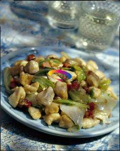 Pollo,cicoria e noci in insalata | Cucinare Meglio