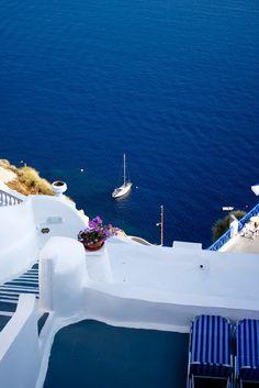 View to Blue, Santorini, Greece