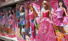One mother's daughter said 'Barbie is fat' compared to her Monster High doll. Photograph: Alamy