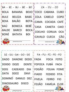 I'm reading GRUPO DE PALAVRAS 1º ANO -CAD. LEITURA on Scribd