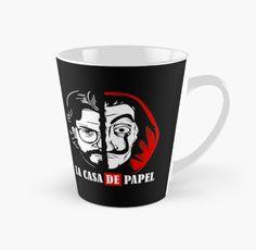 $17.07 Black coffee Mug Money Heist Bella Ciao Black Coffee Mug, Coffee Mugs, Shops, People, Money, Tableware, Tents, Dinnerware, Coffee Cups