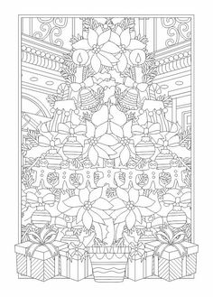 315 Best Adult Coloring Christmas Images In 2019 Coloring Pages