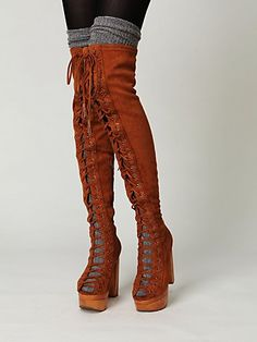 Devandra Lace-Up Boot (evil cackle laughter) $258.00 - hmnnnnnn